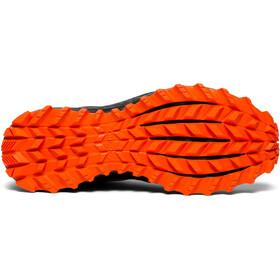 saucony Peregrine ISO Buty do biegania Mężczyźni pomarańczowy/czarny